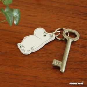 ムーミン白樺製キーリング APRILMAI(アプリルマイ)フィンランド キーホルダー ムーミングッズ|little