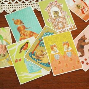 POST CARD(ポストカード)JOUTOMAA(ヨートマー)フィンランド製/Reetta Isotupa-Siltanen|little