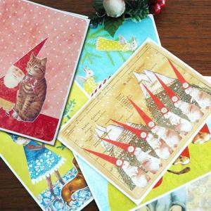 X'mas POST CARD(クリスマス・ポストカード)JOUTOMAA(ヨートマー)フィンランド製/Reetta Isotupa-Siltanen|little