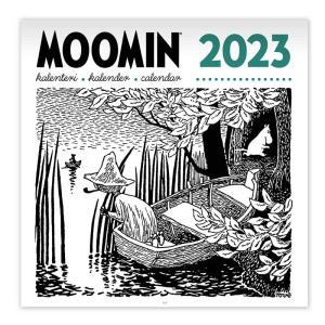 ムーミン 原画壁掛けカレンダー2018 ムーミングッズ 北欧フィンランド 北欧雑貨|little