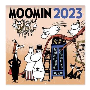 ムーミン 原画壁掛けカレンダーミニサイズ2017 ムーミングッズ 北欧フィンランド 北欧雑貨|little