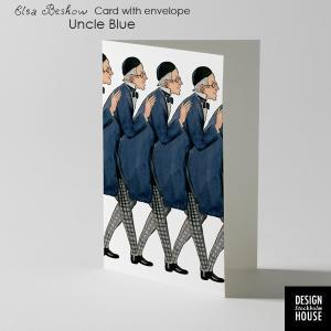 エルサべスコフ・カード・Uncle Blue(青おじさん)・DESIGN HOUSE stockholm(デザインハウス ストックホルム)|little
