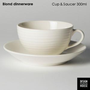 カップ&ソーサー・DESIGN HOUSE stockholm デザインハウス・ストックホルム/Blond /北欧食器|little