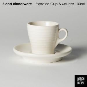 エスプレッソ・カップ&ソーサー・DESIGN HOUSE stockholm デザインハウス・ストックホルム/Blond・北欧食器|little