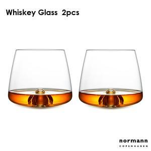 ウィスキーグラス2個セット normannCOPENHAGEN ノーマンコペンハーゲン Whiskey Glass|little