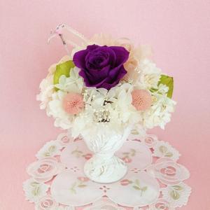 プリザーブドフラワー誕生日 結婚祝い 花 ギフト プレゼント シャーベット イメージ1