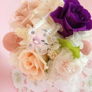 プリザーブドフラワー誕生日 結婚祝い 花 ギフト プレゼント シャーベット イメージ2