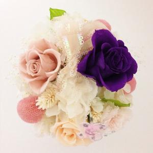 プリザーブドフラワー誕生日 結婚祝い 花 ギフト プレゼント シャーベット イメージ3