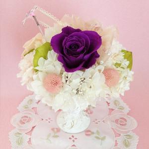 プリザーブドフラワー誕生日 結婚祝い 花 ギフト プレゼント シャーベット イメージ5