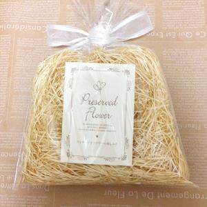 プリザーブドフラワーの壁掛けフレームオレンジは置物としても使えます。贈り物/プレゼント/送料無料 lpm0021 イメージ6
