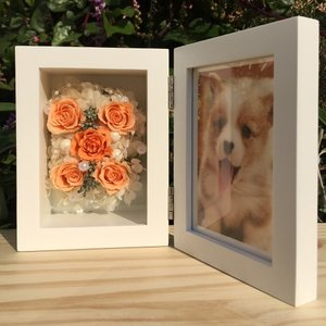 フォトフレーム(オレンジ)/写真立て/結婚祝い/結婚記念日/誕生日プレゼント/贈り物送料無料 lpm0024 イメージ3