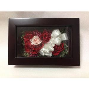 プリザーブドフラワーの結婚祝いローズの贈り物送料無料 イメージ2