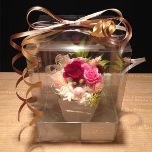 赤いプリザーブドフラワー誕生日/ 記念日/ お祝い/ プレゼント /かわいい プチギフト ストロベリー送料無料 lpm0030 イメージ1