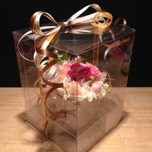 赤いプリザーブドフラワー誕生日/ 記念日/ お祝い/ プレゼント /かわいい プチギフト ストロベリー送料無料 lpm0030 イメージ4