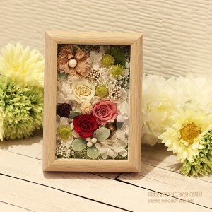 誕生日 記念日 引越し祝い お礼 お祝い 木製 フレームギフト キャンディlpm0047 イメージ2