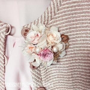 春のプリザのコサージュ入学式・卒業式・結婚式♪(ナチュラルピンク) lpm0067 イメージ2