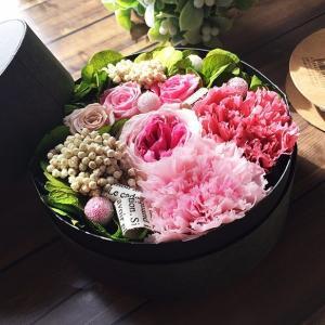 花束に愛を込めてフラワーBOXの贈り物♪ lpm0077 イメージ2