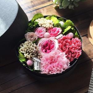 花束に愛を込めてフラワーBOXの贈り物♪ lpm0077 イメージ3