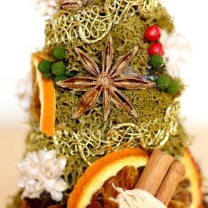プリザーブドフラワー ホワイトポットのクリスマスツリー lpm0104 イメージ5