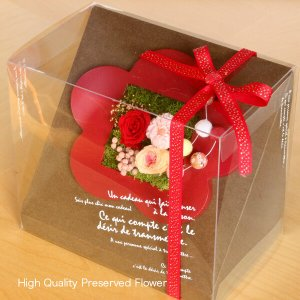 プリザーブドフラワーのお正月飾り 梅 イメージ5