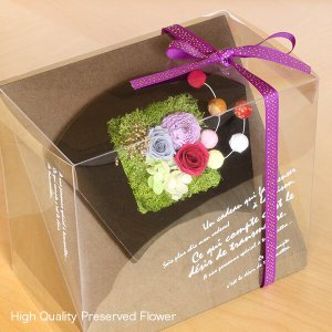 プリザーブドフラワーのお正月飾り 扇 イメージ5