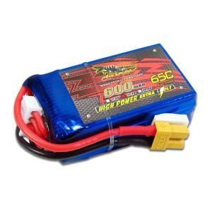 DINOGY ダイノジー リポバッテリー 11.1V 600mAh 65C XT30 (LC-3S600H) FPVレーサーに最適