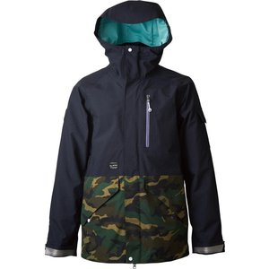 rew outerwear STRIDER JK [GORE-TEX] 2L BLACK x CAMO|littlebird2