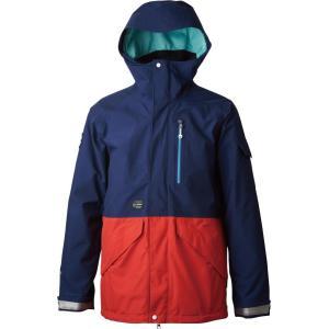 rew outerwear STRIDER JK [GORE-TEX] 2L NAVY x RED|littlebird2