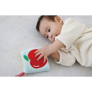 『もぐもぐばあ〜いろんなお顔がかくれんぼ〜』出産祝い 布のおもちゃ はじめてのおもちゃ 知育玩具 誕生日プレゼント 男の子[a31310160]|littlegenius
