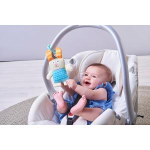『うさぎのぶるぶるラトル』出産祝い 布のおもちゃ はじめてのおもちゃ 知育玩具 誕生日プレゼント 男の子 女の子[a31310178]|littlegenius