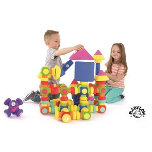 『磁石でピタッと!やわらかつみき』出産祝い 木のおもちゃ はじめてのおもちゃ 知育玩具 誕生日プレゼント 男の子[a31310222]|littlegenius