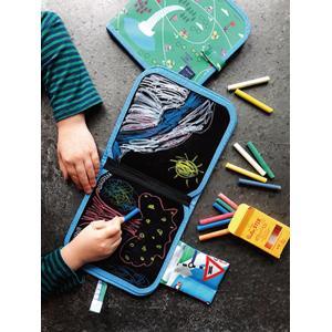 『Jaq_Jaq_Bird_チョークでお絵描き ルートマップ』出産祝い お絵描き はじめてのおもちゃ 知育玩具[a31310206]|littlegenius