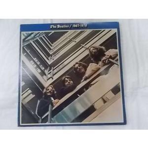 ザビートルズ 1967-1970 青盤 中古レコード US盤 2枚組 見開きジャケット 歌詞付スリー...