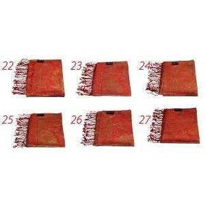 シルクストール プレミアムジャガードシルク100%ストール(RedtypeA) 日本初 オーガニック シルクストール 返品OK 肌の弱い方に染料まで安心素材|littlybaby