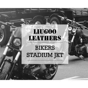 バイカーレザースタジャン メンズ 本革 リューグーレザーズ SRR01C  シングルライダース ライダースジャケット レザージャケット 革ジャン 皮ジャン ブラック 黒 liugoo 02
