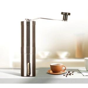 コーヒーミル ステンレス セラミック刃 手動挽き 小窓付き 40g コーヒー用品 手挽きコーヒーミル