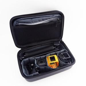 収納ケース ブラック GOPRO HERO7 HERO6 HERO5 ゴープロ 携帯便利 防震 防塵 旅行 ホームストレージケース アクションカメラ 携帯型 耐衝撃 保護ボックス|livekurashi