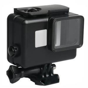 Gopro Hero7 black Hero6 Hero5 ハウジングケース 黒 防水 ケース 45mまで 水中撮影用 ゴープロ gopro hero カメラ アクセサリー  防水ケース ダイビング|livekurashi