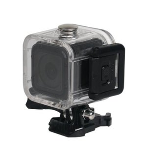 GoPro HERO4 HERO5 Session 専用 ハウジングケース  セッション ハウジング 防水 ケース ゴープロ gopro アクセサリー カメラ防水ケース 45m 水中撮影用|livekurashi