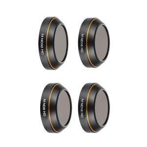 4個レンズフィルターセットND8 ND16 ND16 ND32 Mavic Pro 高精細ガラス フ...