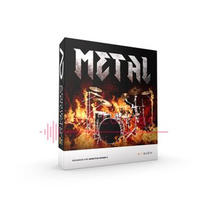 XLN Audio ◆ Metal ADpak◆ Addictive Drums2専用拡張音源 オン...