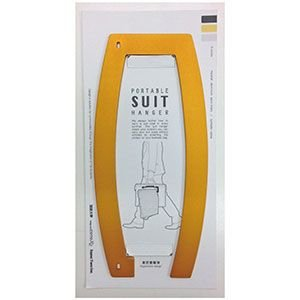 COTORe R型PORTABLE SUIT HANGER(R型ポータブルスーツハンガー)【OR】|livelove