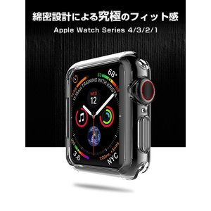 Apple Watch 4 クリアケース 44...の詳細画像1