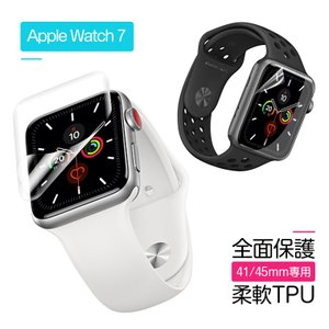 Apple Watch 5 フィルム 40mm Apple Watch Series 4 全面保護フ...