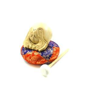 杢魚セット (木魚) 白木 4.5寸|lives