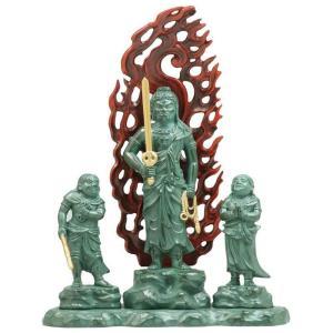 [仏像] 童子不動明王 16.0cm 青銅彩色 合金製 【送料無料(北海道/沖縄離島除く)】|lives