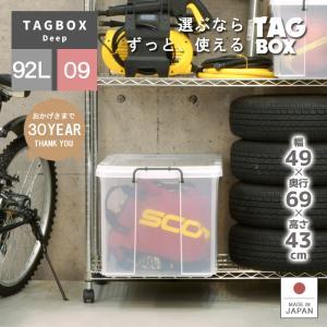 収納ボックス フタ付き プラスチック タッグボックス09の写真