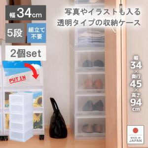 収納ボックス プラスチック お得な2個セット PLUST PHOTO(プラスト フォト)PH3405|livewell