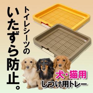 ペット トイレ 犬 猫 ペットトレー しつけ用メッシュトレー レギュラー|livewell