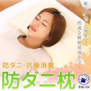 枕 首こり 肩こり 洗える 枕 アレルギー 防ダニ枕 43×...